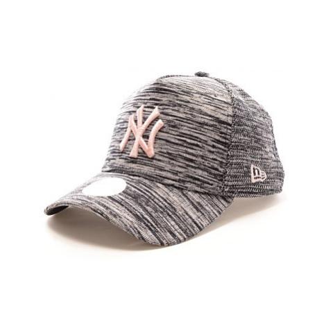 Kšiltovka New Era 940W Trucker MLB dámská šedá