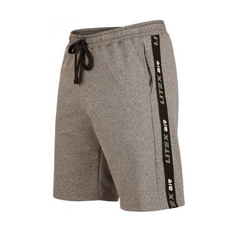 Pánské kraťasy Litex 5B255 | tmavě šedé melé
