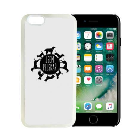 iPhone 7/8 kryt gumový soft Jsem pejskař