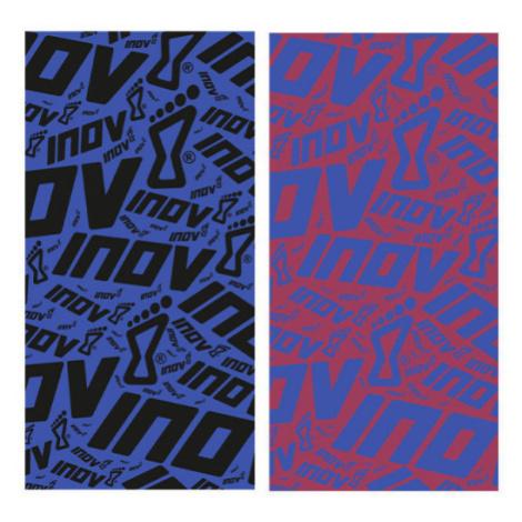 Šátek Inov-8 Wrag 30 fialová/červená