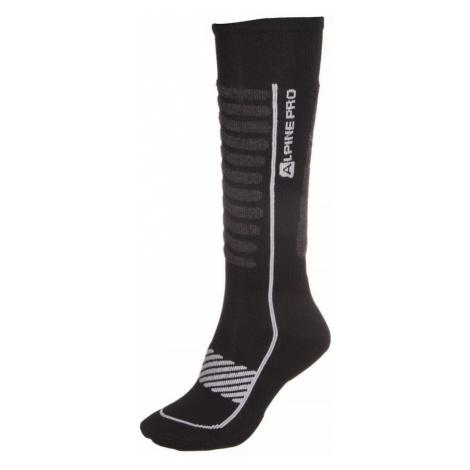 ALPINE PRO NELL 2 Unisex ponožky - merino USCM047773 šedá