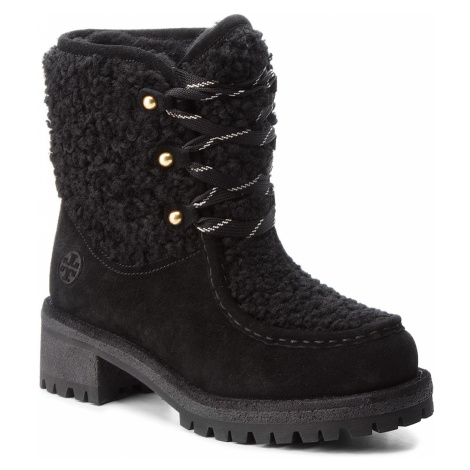 Turistická obuv TORY BURCH - Meadow Boot 49197 Perfect Black/Perfect Black 004