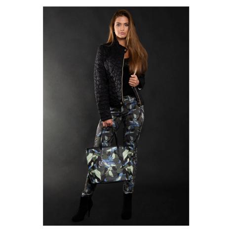 Armani dámské kalhoty se vzorem
