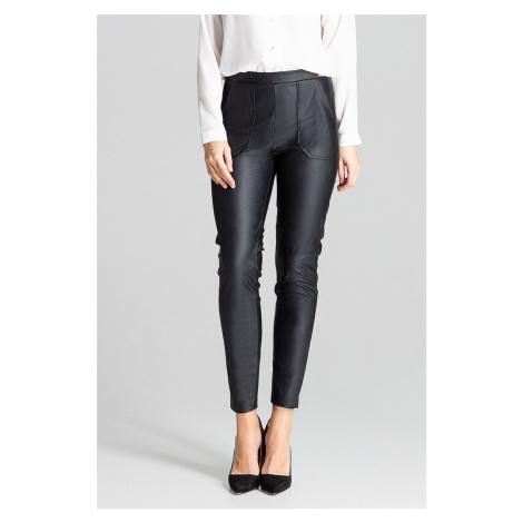 Černé kalhoty L072 Lenitif
