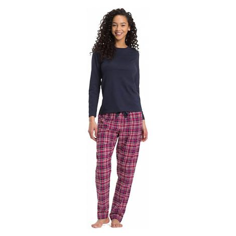 Tommy Hilfiger dámské pyžamo 428 - Vícebarevné
