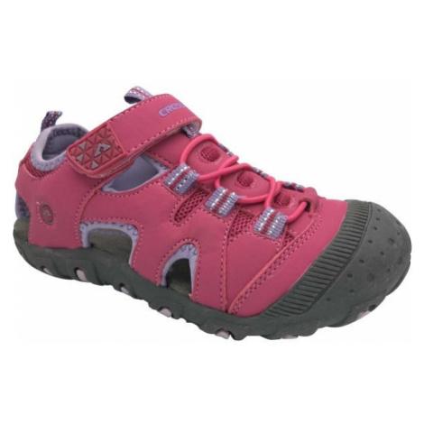 Crossroad MUGEN fialová 35 - Dětské sandály