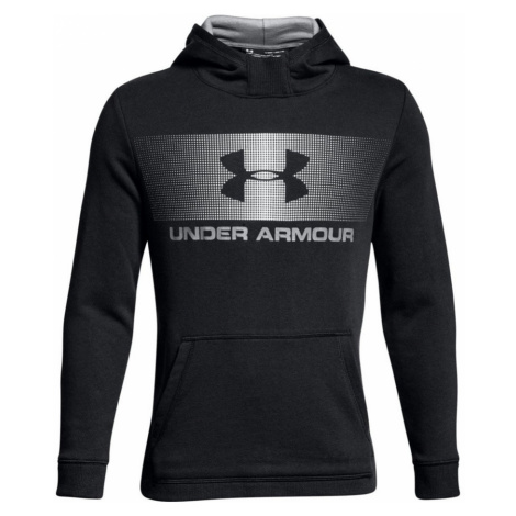 Under Armour Ctn French Terry Hoody Dětská mikina 1306161-001 Black