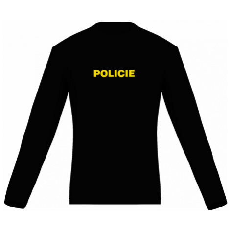 Pánské tričko dlouhý rukáv Policie