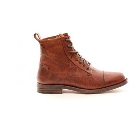 Kožené kotníkové boty Levi´s® Emerson hnědé