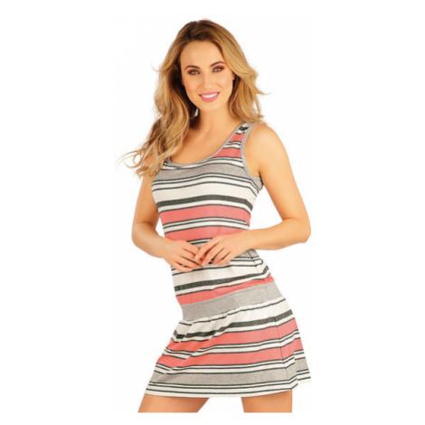 Dámské šaty bez rukávu Litex 5A010 | pruhy