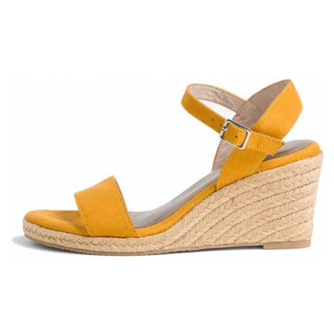 Tamaris Dámské sandále 1-1-28300-24-684 Mustard