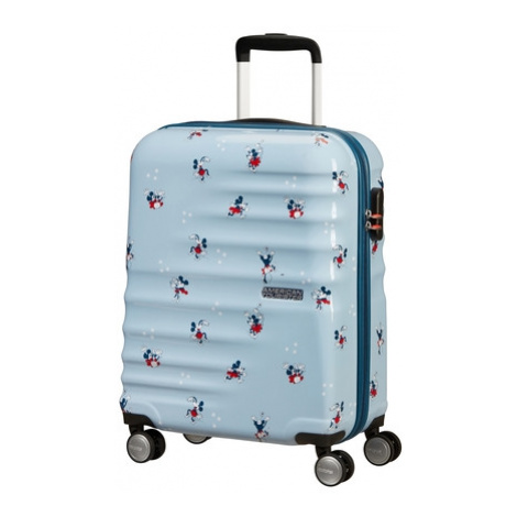 AT Dětský kufr Wavebreaker Disney Spinner 55/20 Cabin Minnie Darling Blue, 40 x 20 x 55 (85667/8 American Tourister