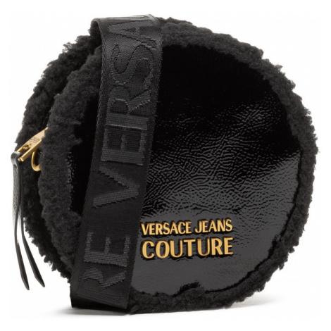 Černá kabelka s ekokožešinou - VERSACE JEANS