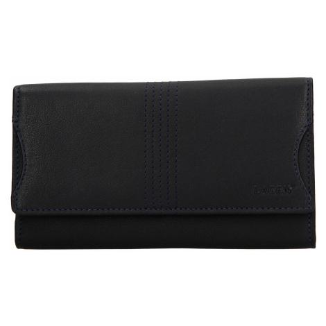 Dámská kožená peněženka Lagen Sarah - modrá