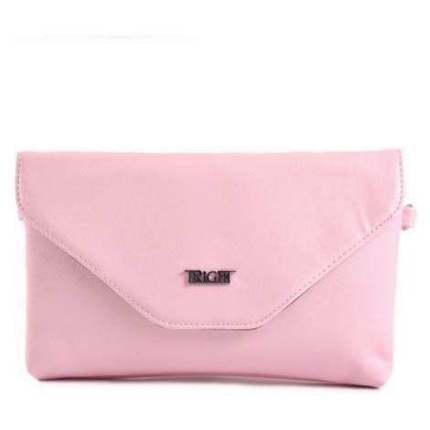 BRIGHT Společenská kabelka Růžová, 24 x 13 x 15 (BR18-AA2009-20SYN)