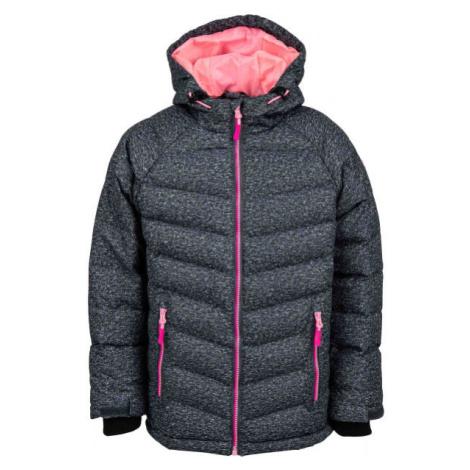 Lewro SHELBY růžová - Dětská zimní bunda