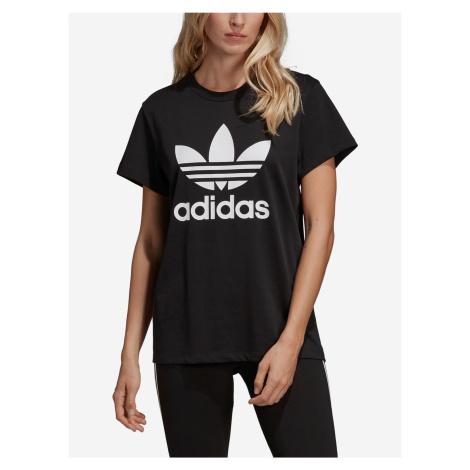 Tričko adidas Originals Boyfriend Tee Černá