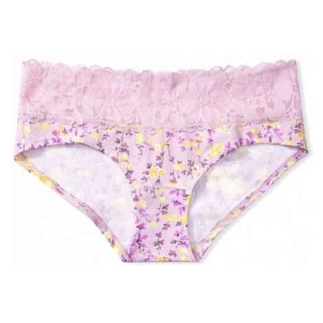 Victorias Secret pohodlné kalhotky Lace-waist Hiphugger Panty Victoria's Secret