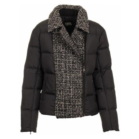 Karl Lagerfeld dámská zimní bunda černá