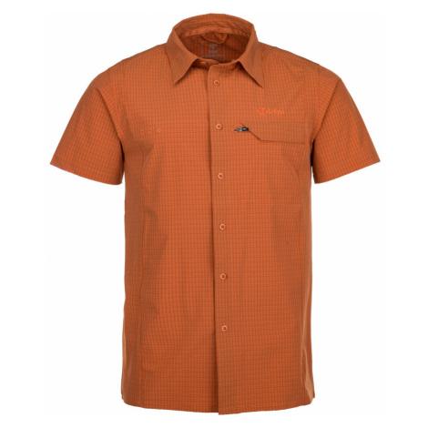 KILPI Pánská košile BOMBAY IM0151KIORN Oranžová