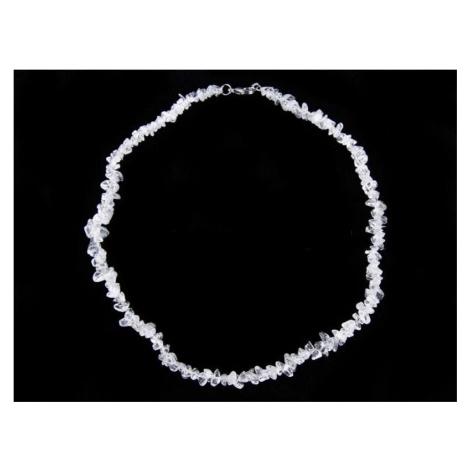 Buddhanaramek Křišťál náhrdelník sekaný 7379