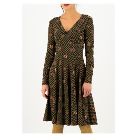 Žerzejové šaty s dlouhým rukávem Blutsgeschwister Fiona fortuna