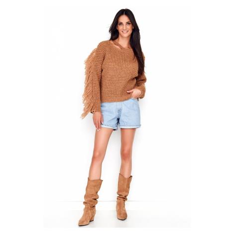 Numinou Woman's Sweater Nu_S63 Camel
