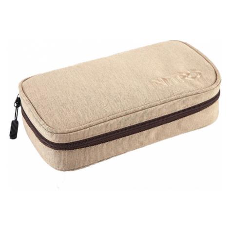 Nitro Pencil Case XL Almond