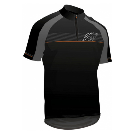 Cyklistický Dres Kellys Pro Sport Černo-Oranžová