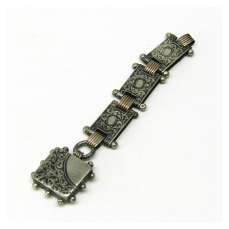 AutorskeSperky.com - Stříbrný přívěsek ke kapesním hodinkám - S2107