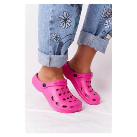 Dámské Nazouváky Růžové Pěnové Crocsy EVA