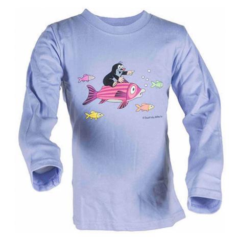 tričko chlapecké KRTEK FISH, Pidilidi, 2015, modrá