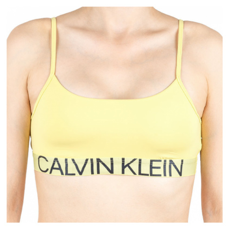 Dámská podprsenka Calvin Klein žlutá (QF5181E-HZY)