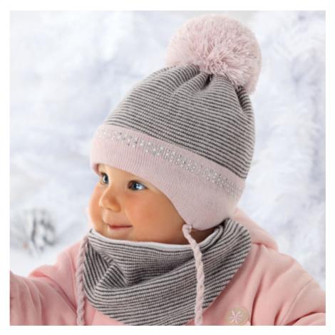 Dětská čepice a šátek 36-304 - AJS