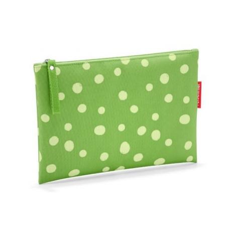 Taštička na zip Reisenthel Case 1 Spots green
