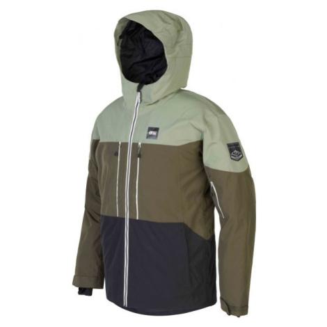 Picture OBJECT zelená - Pánská zimní bunda