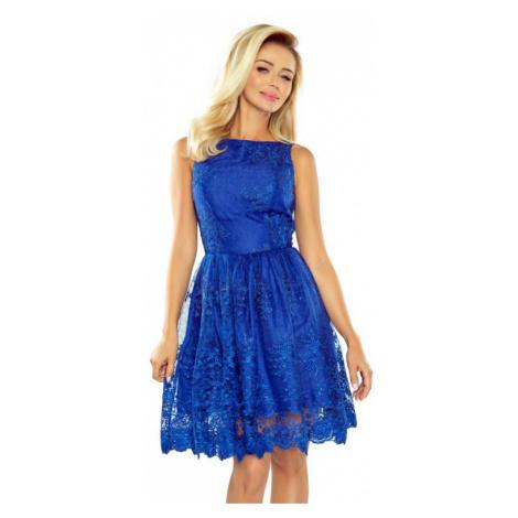 Dámské šaty Numoco 173-1   královská modrá