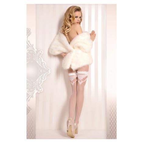 Luxusní samodržící punčochy Wedding Ballerina