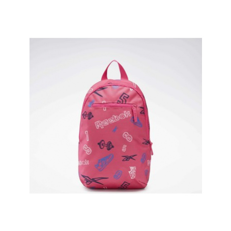 Reebok Classic Allover Print Backpack Small Růžová