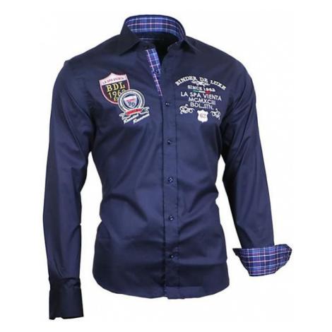 BINDER DE LUXE košile pánská 81101 s dlouhým rukávem