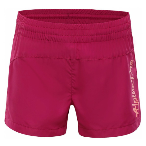 Dětské šortky Alpine Pro CLEOFO 2 - růžová