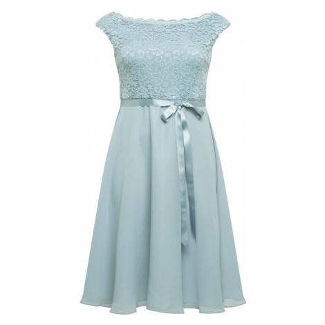 SWING Curve Koktejlové šaty pastelová modrá