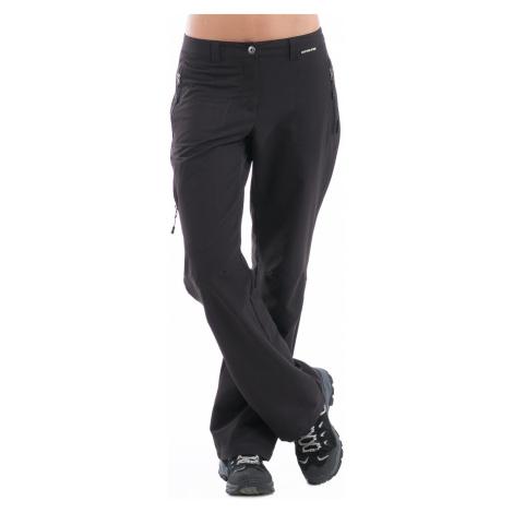 Dámské softshellové kalhoty Alpine Pro MURIA - černá