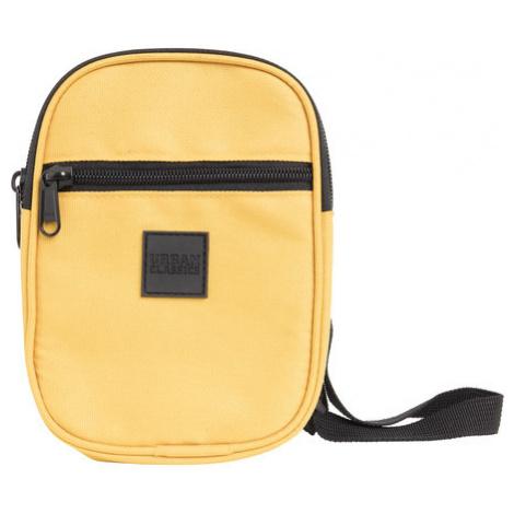 Urban Classics Festival Bag Small chrome yellow