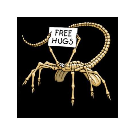 Vetřelec - free hugs (Hana-creative) - Triko s dlouhým rukávem Long Sleeve
