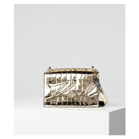 Kabelka Karl Lagerfeld K/Signature Croco Sm Sb