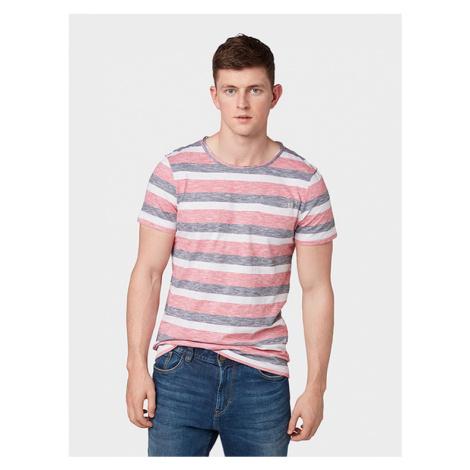 Tom Tailor pánské tričko s proužkem 1011541/18068