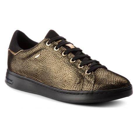 Sneakersy GEOX - D Jaysen A D621BA 0JSAF C2E9B Dk Gold/Black
