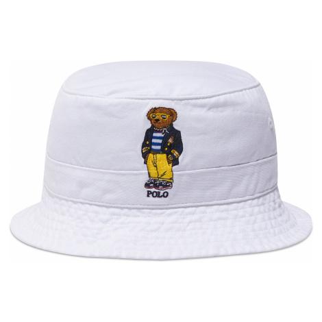Klobouk bucket hat POLO RALPH LAUREN - Loft 710834756002 White