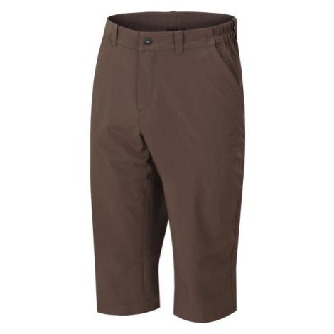 Hannah WHARTON hnědá - Pánské 3/4 kalhoty